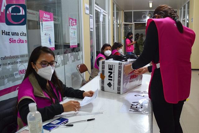 Para Morena y aliados 11 de 15 diputaciones federales en Puebla