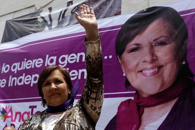 En Fepade sigue abierta queja del IEE contra Ana Teresa Aranda