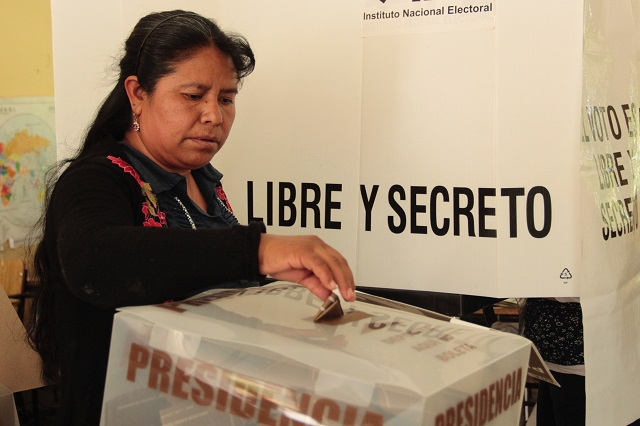 Así se alejó votación presidencial y de gobernador en Puebla