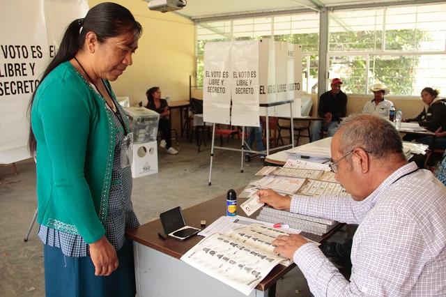 Suma el IEE ya 3 elecciones en juntas auxiliares de Puebla