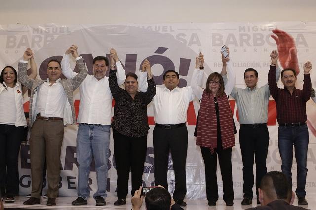 Arranca el PREP y perfila triunfo de Miguel Barbosa