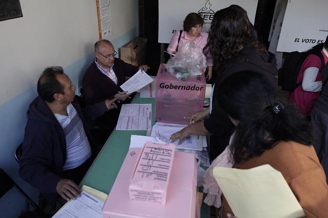 Se instalaron el 100% de las casillas electorales en el estado: IEE