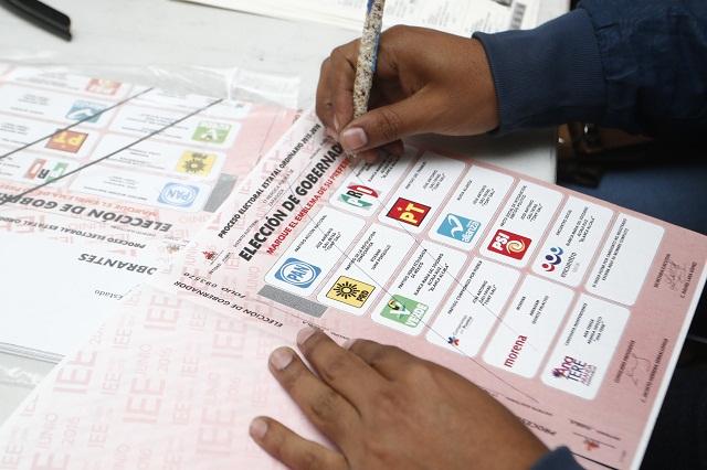 Por año de registro, PAN irá primero en la boleta electoral