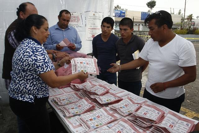 Rechaza el TEPJF conteo voto por voto en 5 distritos de Puebla