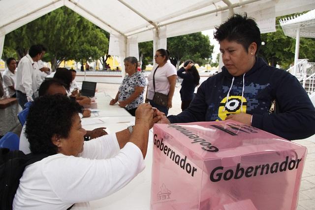 Acusan partidos compra de votos y hostigamiento de policías