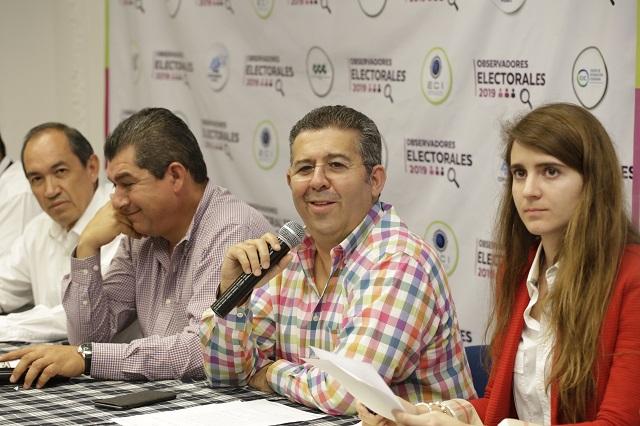 Reportan empresarios 103 irregularidades en comicios de Puebla