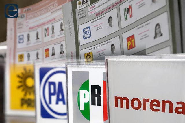 Morena, PAN y PRI se quedan con mayoría de las alcaldías en Puebla