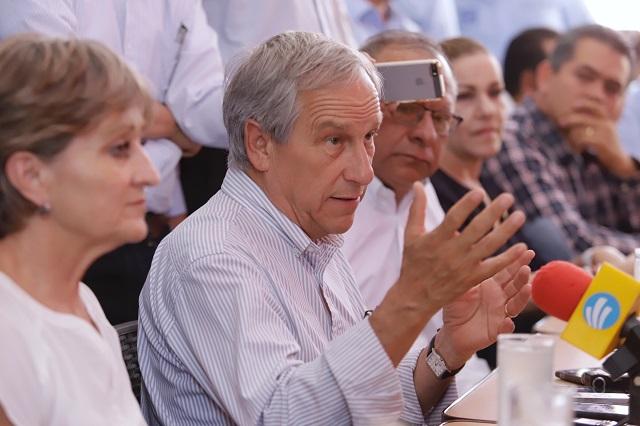 No hay recelo hacia PAN, PRD y MC, somos socios, señala Cárdenas