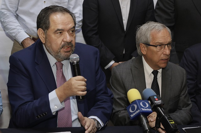 No pelea PAN con Hinojosa por fundar nuevo partido, asevera Larios