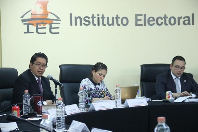 IEE hace un llamado a la cordura y apego a la legalidad