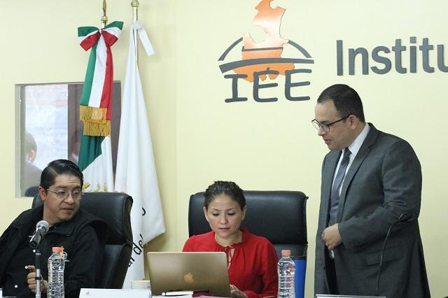 Quedan 12 aspirantes para ocupar 3 lugares en el IEE de Puebla