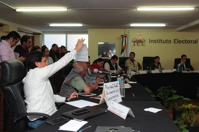 IEE no pedirá al INE atraer elección por la gubernatura