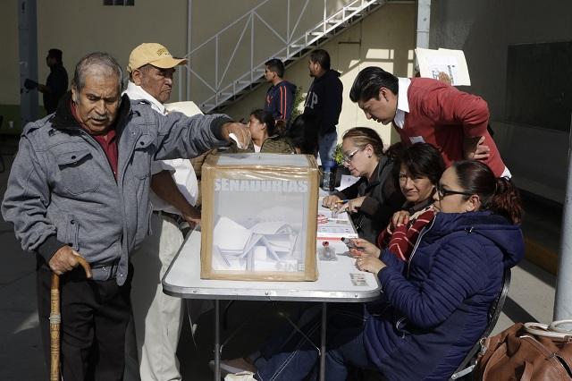 Saldo blanco en los plebiscitos realizados este domingo: SGG