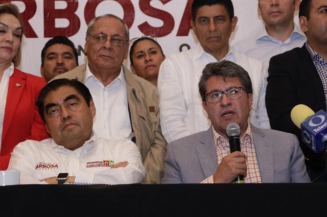 Monreal niega denuncia en la Fepade contra Manzanilla