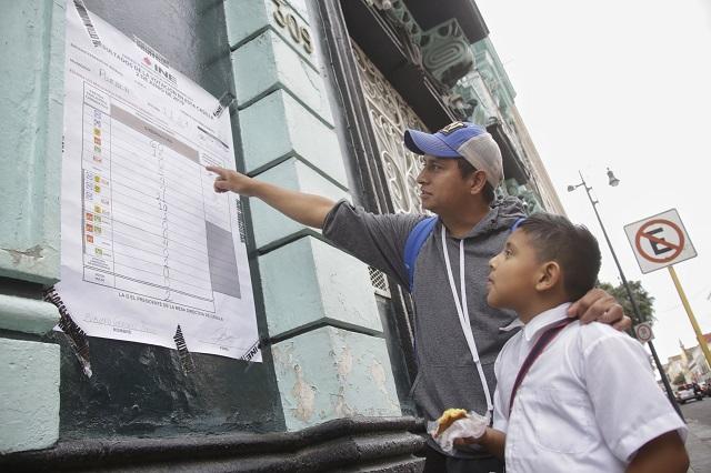 Elección costó 94 pesos a cada poblano con credencial del INE