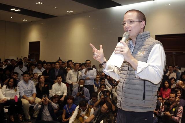 Se destapa Ricardo Anaya para elección presidencial de 2024