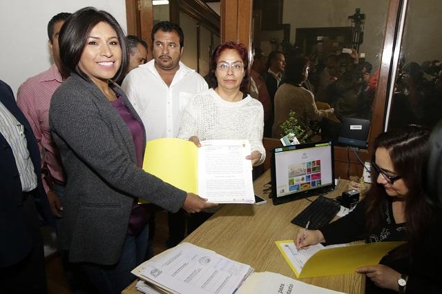 Propone Roxana ley para restablecer facultades de juntas auxiliares