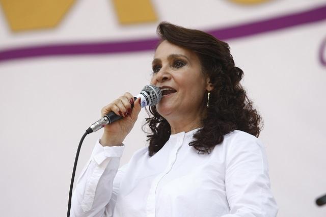 El poder de RMV doblegó al TEPJF, dice la senadora Dolores Padierna