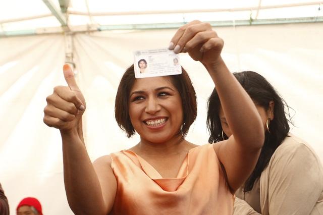 Afiliación masiva en el PRD viene desde el 2010, dice Roxana Luna