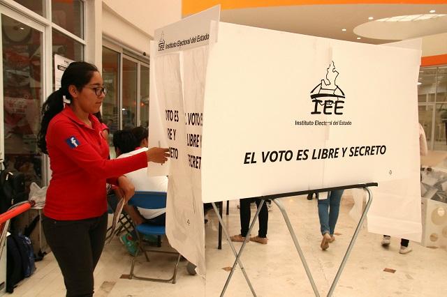 Martha Erika gana 16 distritos y Barbosa 10 al concluir cómputo
