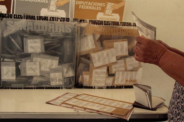Difícil dar tendencia ganadora en Puebla: Comité Técnico del INE