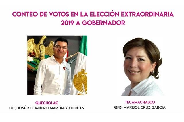 Quecholac suma más votos para Barbosa que Tecamachalco