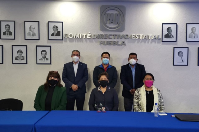Elección de presidenta del PAN en Puebla, el 14 de noviembre