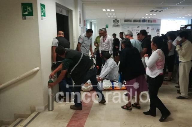 Avería en elevador de hospital Issste lesiona a 7 personas