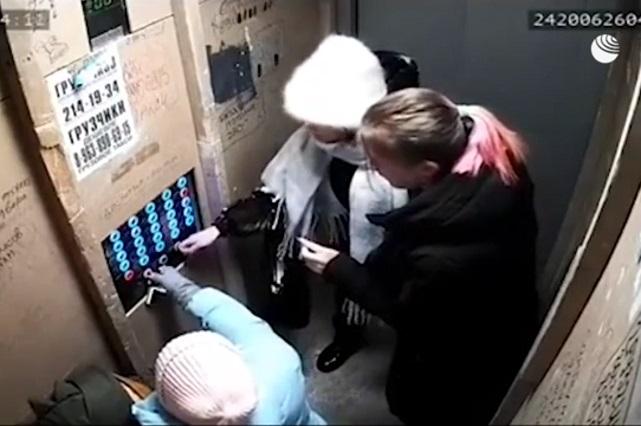 Video: Ascensor cae al vacío con cuatro personas en su interior