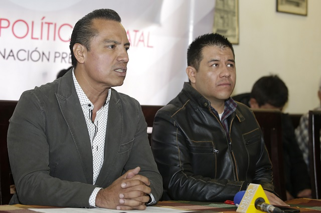 Eliezer Popócatl disputa a Hersilia Córdova candidatura de Antorcha