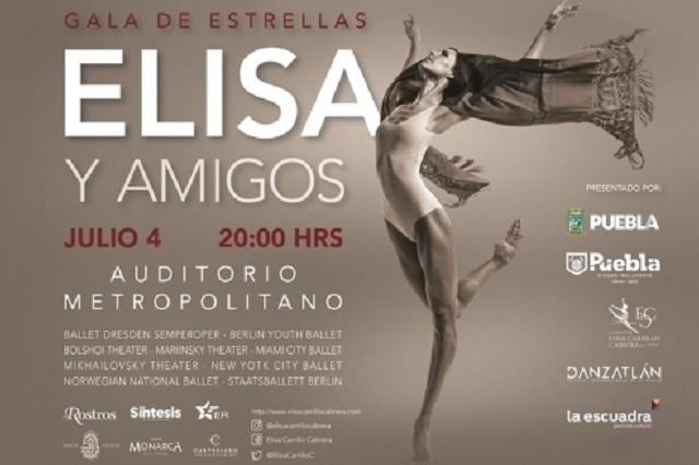 """Gala de Estrellas """"Elisa y Amigos"""", Auditorio Metropolitano de Puebla"""