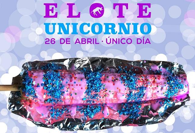 El Elote Unicornio le hace sombra al Unicorn Frappuccino en México