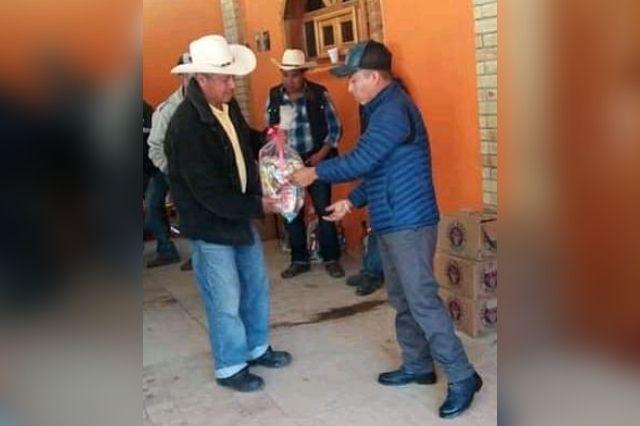Denuncian a alcalde de Eloxochitlán por coaccionar el voto