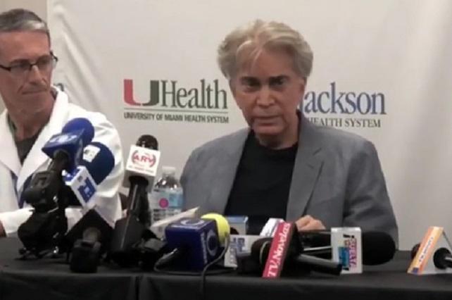 El Puma reaparece tras recibir un doble trasplante de pulmón