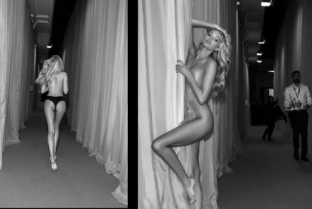 Elsa Hosk El ángel Que Se Desnudó En Backstage De Victorias Secret