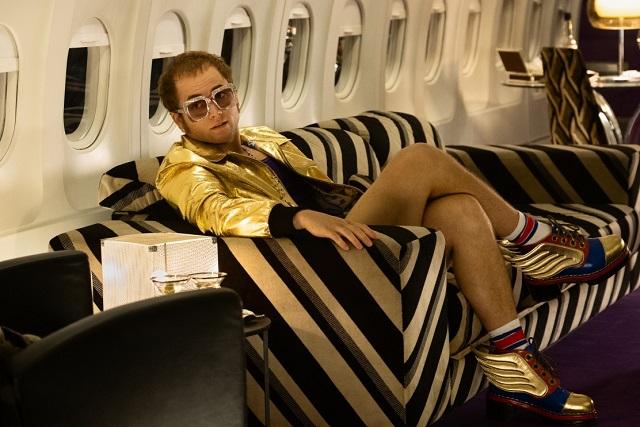 Así se ve Taron Egerton como Elton John en Rocketman
