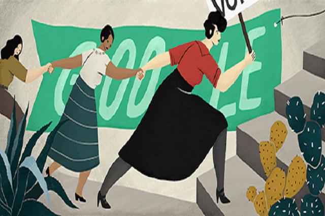 Google homenajea a Elvia Carrillo Puerto, primera mexicana sufragista