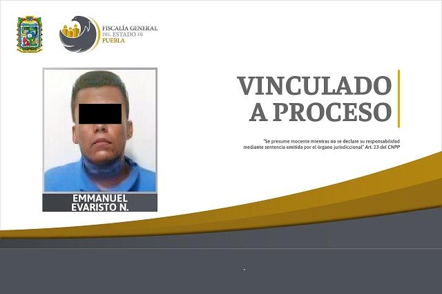 Lo vinculan a proceso por violación de una menor en Puebla