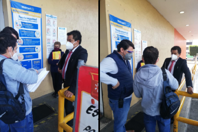 Embarga la JLCA Walmart San Manuel por juicio laboral