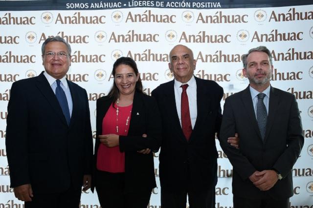 Embajador y director del MIB imparte Cátedra Prima en Universidad Anáhuac