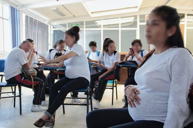 Atendió IMSS Puebla al día 14 embarazos adolescentes en 2018