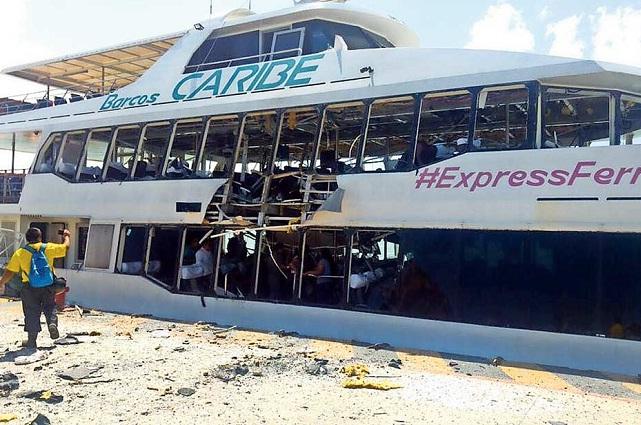 Policía Federal vigila embarcaciones en Playa del Carmen y Cozumel