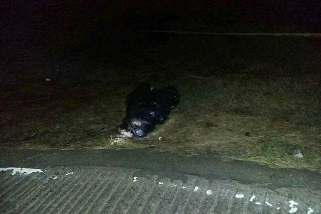 Cadáver de una mujer aparece en bolsa de plástico, en Huauchinango