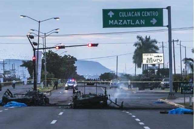 Gente cercana a El Chapo emboscó al convoy del ejército y mató a los 5 militares
