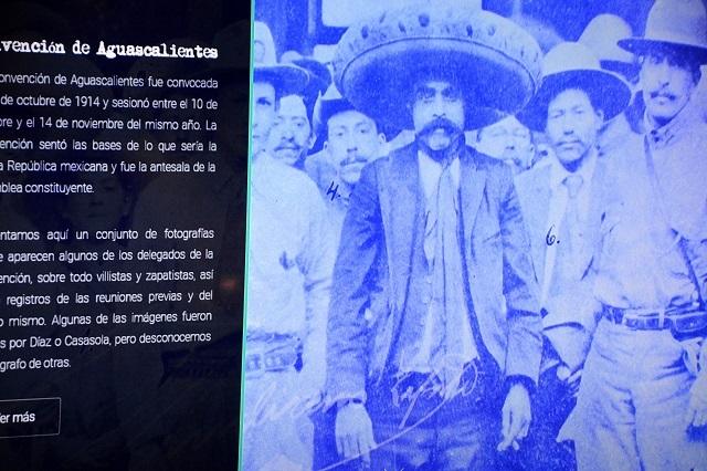 Presentan sitio web dedicado a Emiliano Zapata