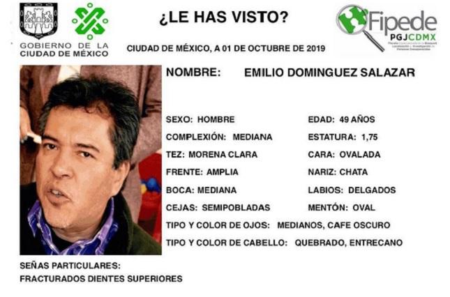 Reportan desaparecido a profesor de la UAM que fue a sucursal bancaria