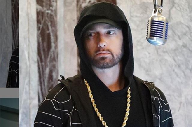 Eminem se lleva el susto de su vida al sorprender a un extraño dentro de su casa