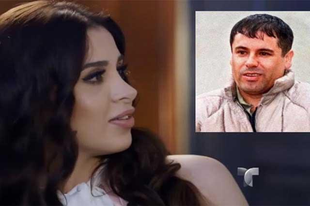 Emma Coronel teme que El Chapo sufra un infarto o un derrame cerebral