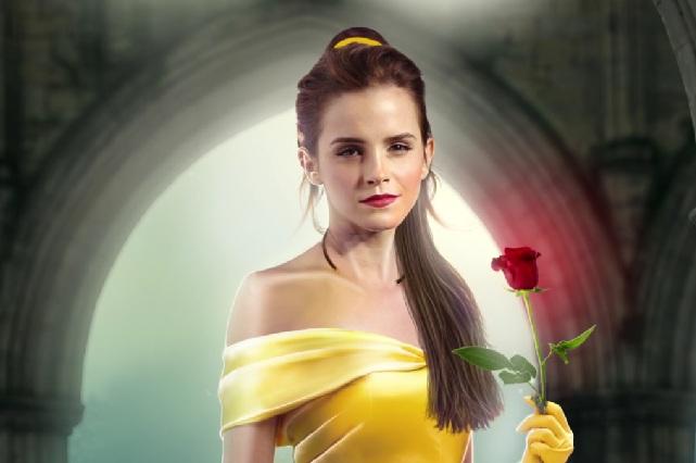 Promocionan La Bella y La Bestia con canción de Emma Watson