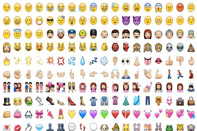 Los emoji, un lenguaje virtual y universal